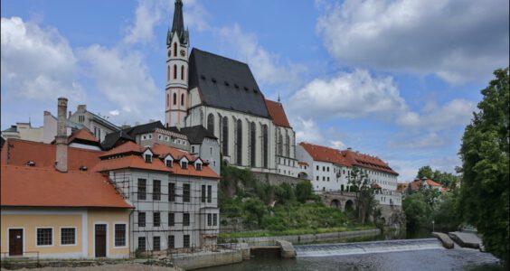 (Český Krumlov, Böhmisch Krumau) Czeski Krumlow, St. Jost Church
