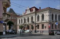 Czerniowce, Budynek regionalnej ukraińskiej administracji.