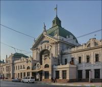 Czerniowce, dworzec kolejowy cz.1