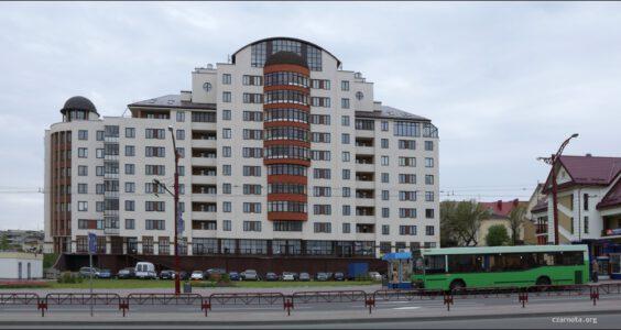 Grodno, okolica dworca autobusowego