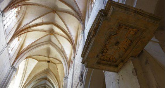 Lubiąż, Opactwo Cysterskie, wnętrza kościoła