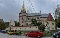 Trembowla, kościół i klasztor Karmelitów