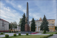 Homel, Plac Komsomolski