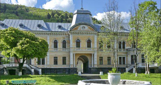(Ско́ле, Сколе) Skole,  Pałac Groedlów
