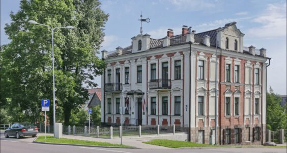 (Daugavpils, Даугавпилс) Dyneburg, Ślady Polski w Dyneburgu, cmentarz na Słobódce, Centrum Kultury Polskiej