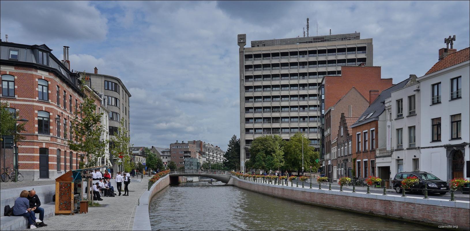 (Gent, Ghent, Gandawa) Belgacomtoren by Geo Bontinck and Dirk Bontinck