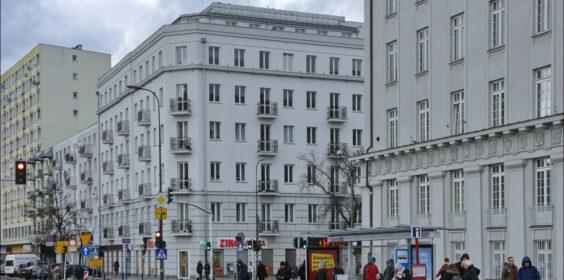 Warszawa, kamienica ul. Targowa 76 róg Wileńskiej