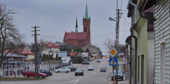 Zgierz, ul. Aleksandrowska w 1939 i 2021