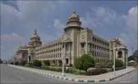3. (Bengaluru) Bangalore, High Court of Karnataka, Vidhana Soudha, Vikasa Soudha