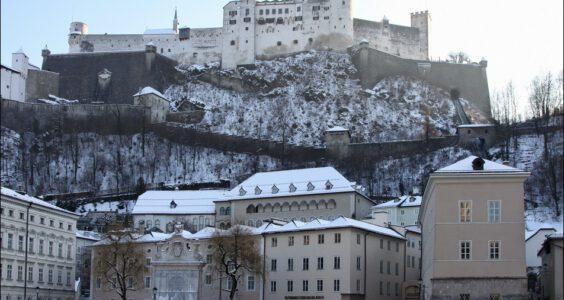 Austria (Австрия, Österreich) Salzburg , Zamek Hohensalzburg cz.1