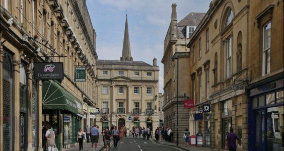 Bath, ulice
