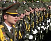 (Minsk, Минск, Мінск) Parada wojskowa w Mińsku, cz.1