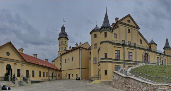 Nieśwież, zamek rodu Radziwiłłów