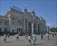 Odessa, z dworca do portu