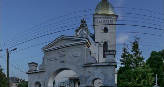 Ukraina, Bełz, Kościół na Zameczku