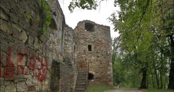 Ukraina, Trembowla, Zamek