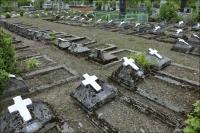 (Stryi, Стрий, Стрый) Stryj, mogiły polskich żołnierzy poległych w wojnie polsko-bolszewickiej
