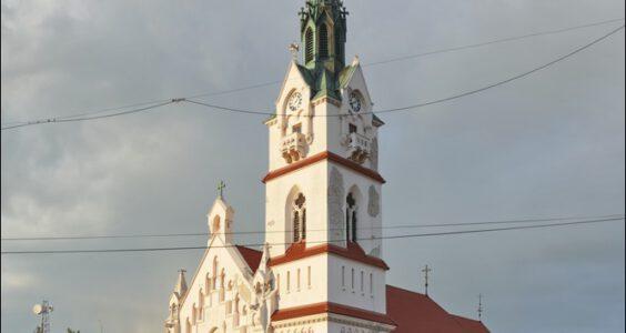 Ukraina, (Stryi, Стрий, Стрый) Stryj, Kościół Narodzenia Najświętszej Marii Panny