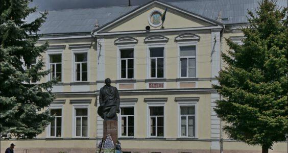 Ukraina, (Stryi, Стрий, Стрый) Stryj, Gimnazjum