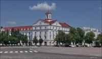 12. (Chernihiv, Чернігів, Чернигов) Czernihów, Plac Czerwony w słońcu
