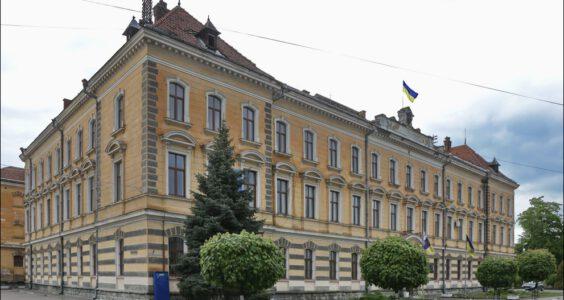 Ukraina, (Stryi, Стрий, Стрый) Stryj, Narodnyj Dom i Sąd okręgowy