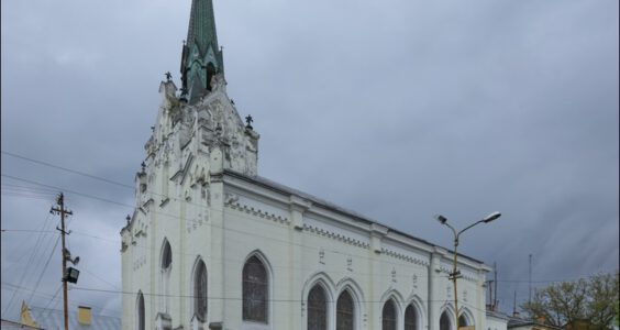 Ukraina. (Stryi, Стрий, Стрый) Stryj, Kościół serafitek św. Józefa