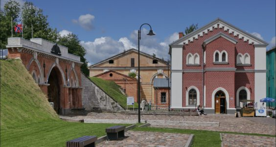 (Daugavpils, Даугавпилс) Dyneburg, Ślady Polski w Dyneburgu, Twierdza