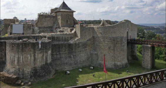 (Suczawa, Suceava, Сучава) Ślady Polaków w Rumunii, Twierdza tronowa hospodarów mołdawskich