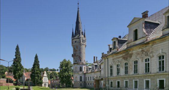 Bożków, pałac rodziny von Magnis
