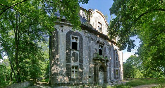 Pałac Piszkowice przed remontem