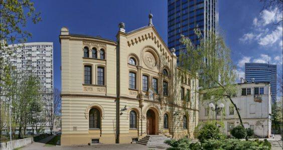 Synagoga im. Małżonków Nożyków, Warszawa ul. Twarda 6