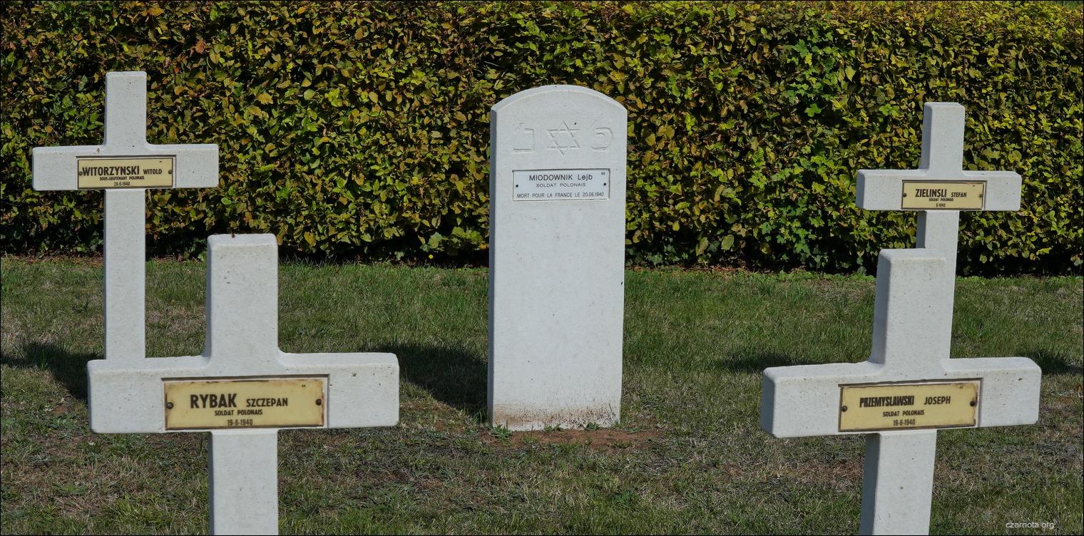 II wojna światowa. Kwatery wojenne we Francji. Żydzi walczyli w Polskich Siłach Zbrojnych na Zachodzie