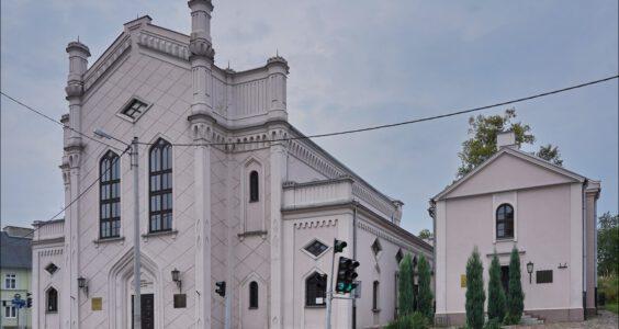 Piotrków Trybunalski, ul. Jerozolimska 29, Wielka Synagoga i stary cmentarz żydowski