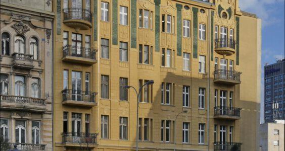 Łódź, ul. Sienkiewicza 6, secesyjna kamienica