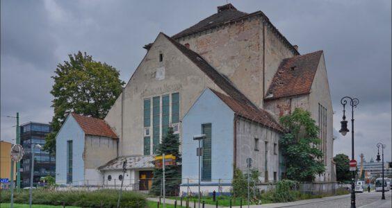 Poznań, ul. Wroniecka 17, dawna Nowa Synagoga