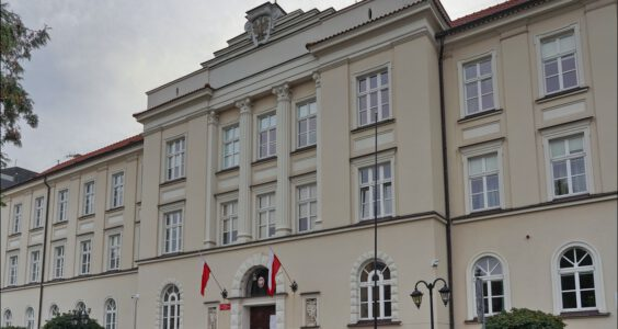 Lublin, ul. Spokojna 4, Lubelski Urząd Wojewódzki, dawna siedziba Polskiego Komitetu Wyzwolenia Narodowego