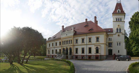 Pałac w Borku Strzelińskim