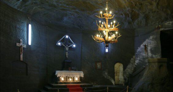 2. Mina de Sare din Cacica Romania, Cacica salt mine, Rumunia, kopalnia soli w Kaczyce – ślady Polaków w Rumunii