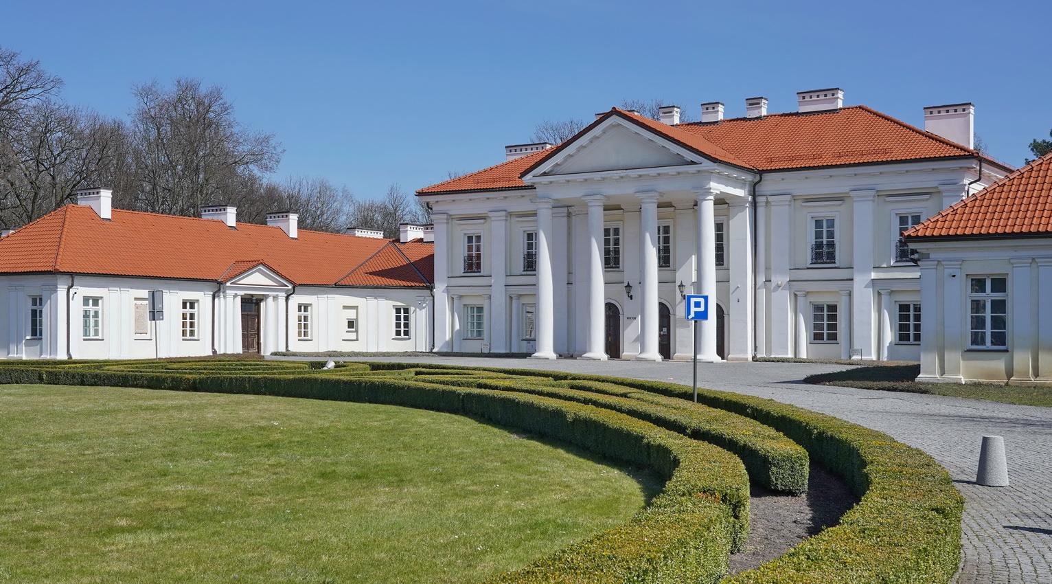 Zespół pałacowo-ogrodowy w Siedlcach