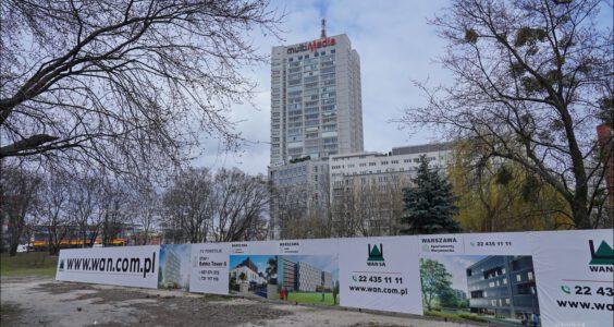 Warszawa Al. Jana Pawła II Babka Tower II